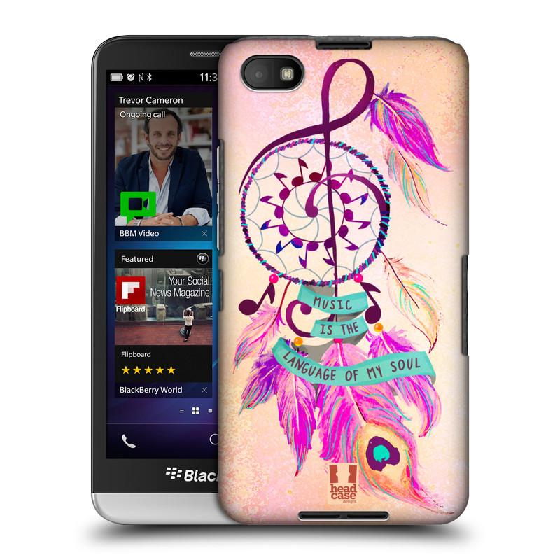 Plastové pouzdro na mobil Blackberry Z30 HEAD CASE Lapač Assorted Music (Kryt či obal na mobilní telefon Blackberry Z30)