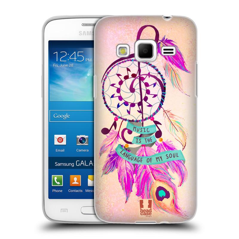 Silikonové pouzdro na mobil Samsung Galaxy Express 2 HEAD CASE Lapač Assorted Music (Silikonový kryt či obal na mobilní telefon Samsung Galaxy Express 2 SM-G3815)