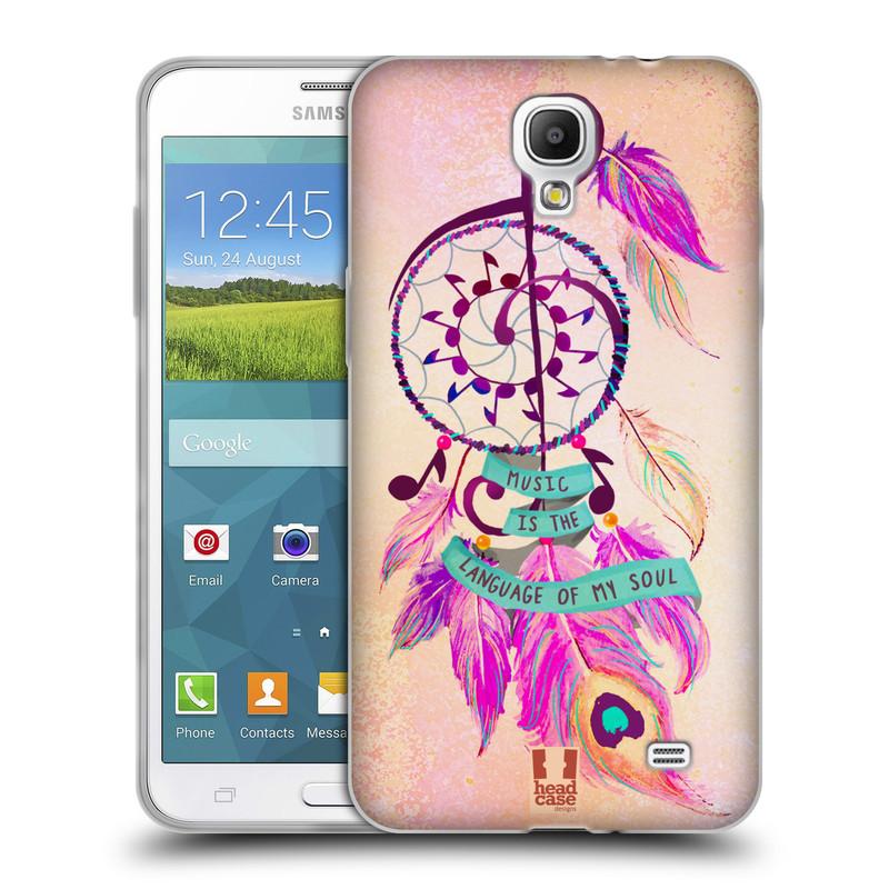 Silikonové pouzdro na mobil Samsung Galaxy Grand Mega 2 HEAD CASE Lapač Assorted Music (Silikonový kryt či obal na mobilní telefon Samsung Galaxy Grand Mega 2 SM-G750)