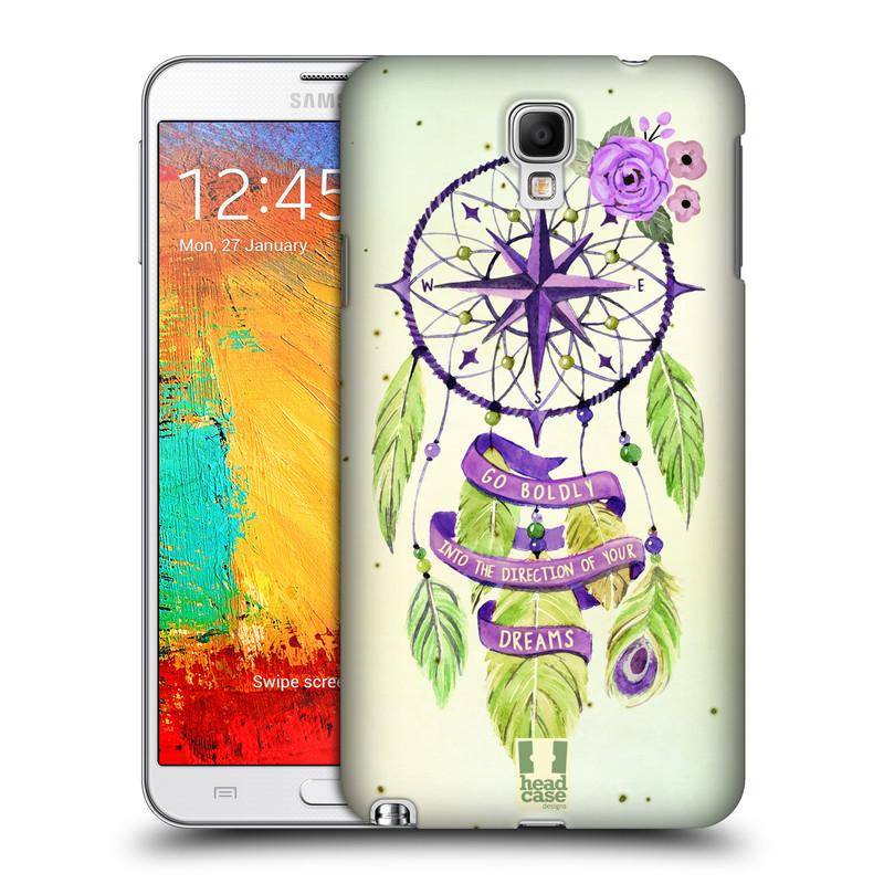 Plastové pouzdro na mobil Samsung Galaxy Note 3 Neo HEAD CASE Lapač Assorted Compass (Kryt či obal na mobilní telefon Samsung Galaxy Note 3 Neo SM-N7505)