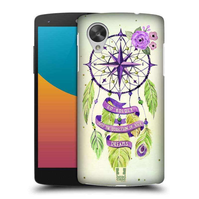 Plastové pouzdro na mobil LG Nexus 5 HEAD CASE Lapač Assorted Compass (Kryt či obal na mobilní telefon LG Google Nexus 5 D821)
