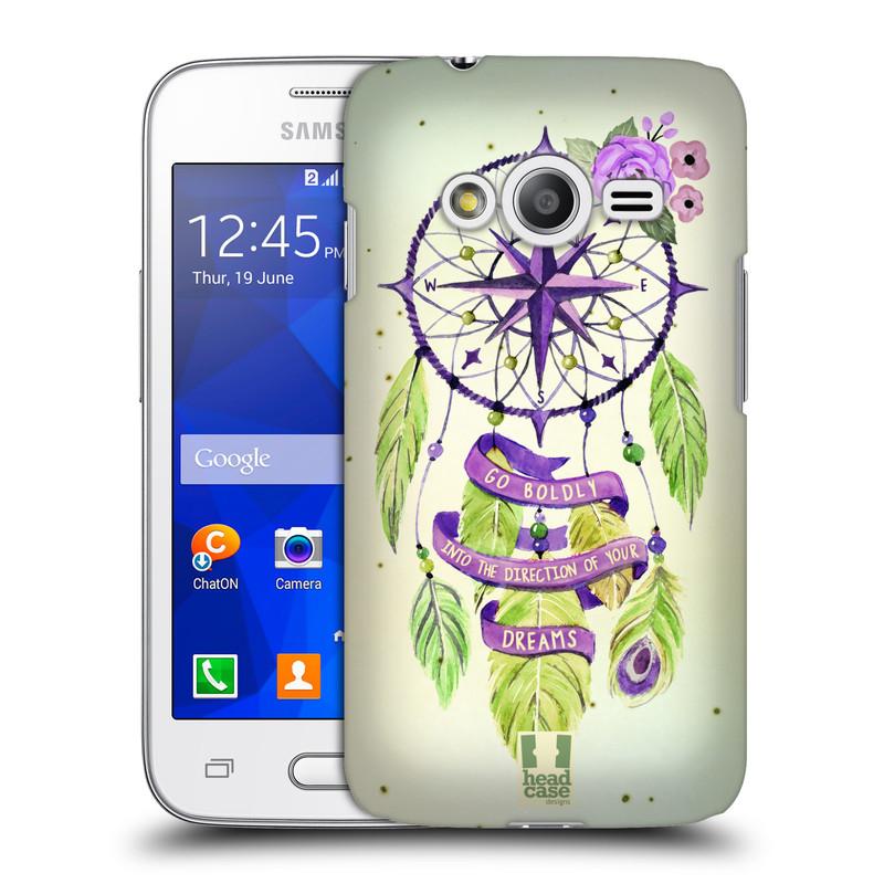 Plastové pouzdro na mobil Samsung Galaxy Trend 2 Lite HEAD CASE Lapač Assorted Compass (Kryt či obal na mobilní telefon Samsung Galaxy Trend 2 Lite SM-G318)
