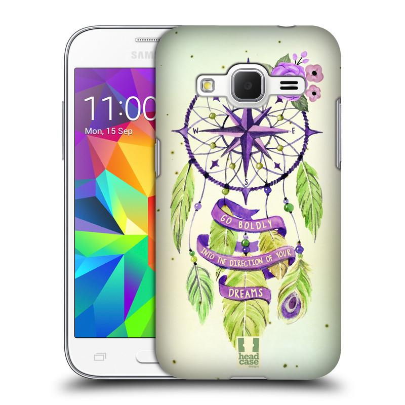 Plastové pouzdro na mobil Samsung Galaxy Core Prime LTE HEAD CASE Lapač Assorted Compass (Kryt či obal na mobilní telefon Samsung Galaxy Core Prime LTE SM-G360)