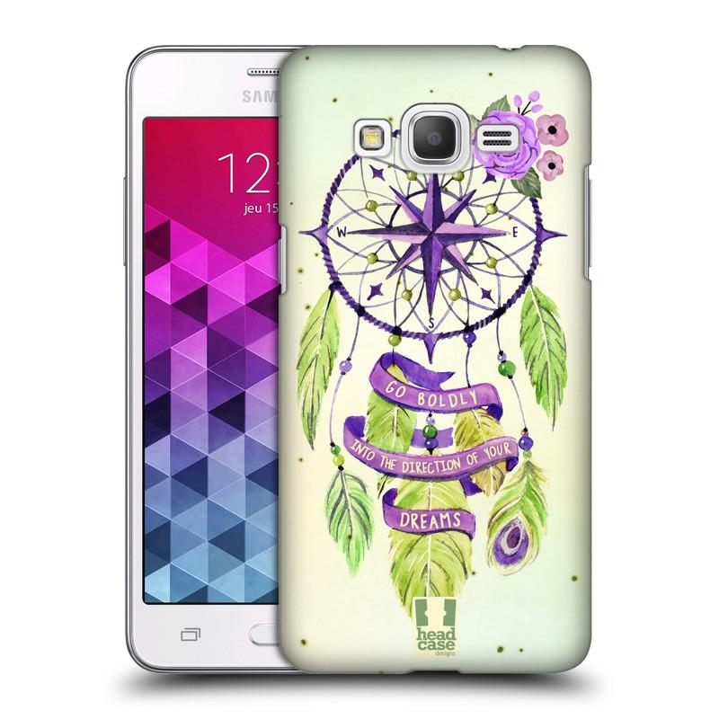 Plastové pouzdro na mobil Samsung Galaxy Grand Prime HEAD CASE Lapač Assorted Compass (Kryt či obal na mobilní telefon Samsung Galaxy Grand Prime SM-G530)