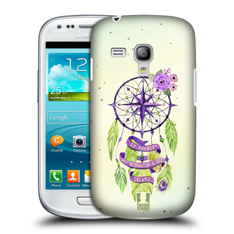 Plastové pouzdro na mobil Samsung Galaxy S III Mini HEAD CASE Lapač Assorted Compass (Kryt či obal na mobilní telefon Samsung Galaxy S III Mini GT-i8190)