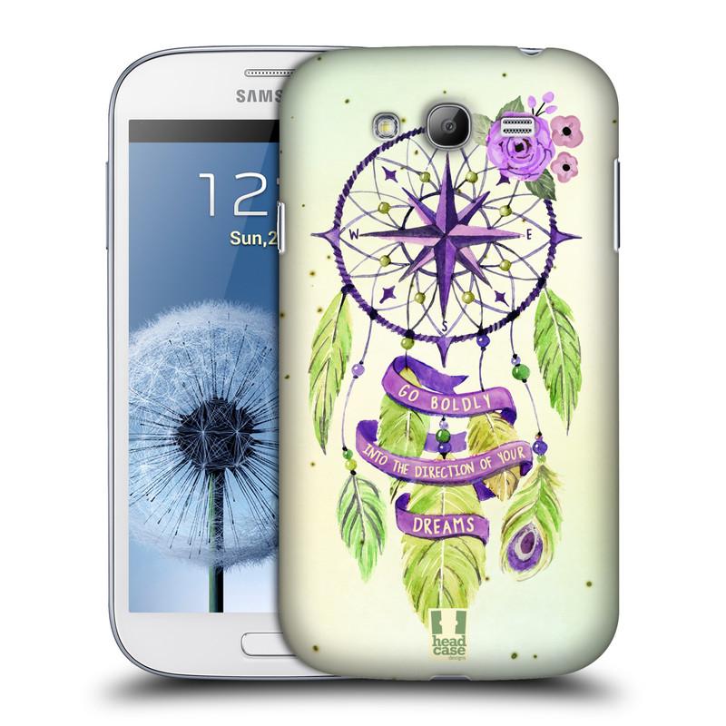 Plastové pouzdro na mobil Samsung Galaxy Grand Neo Plus HEAD CASE Lapač Assorted Compass (Kryt či obal na mobilní telefon Samsung Galaxy Grand Neo Plus GT-i9060i)