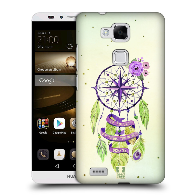 Plastové pouzdro na mobil Huawei Ascend Mate 7 HEAD CASE Lapač Assorted Compass (Kryt či obal na mobilní telefon Huawei Ascend Mate7)