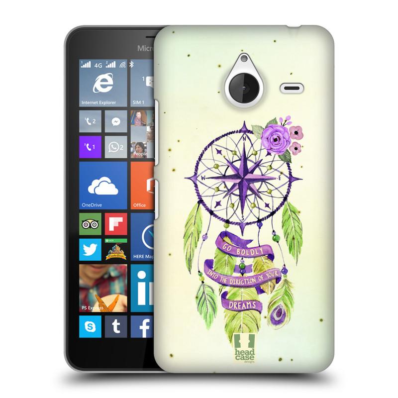 Plastové pouzdro na mobil Microsoft Lumia 640 XL HEAD CASE Lapač Assorted Compass (Kryt či obal na mobilní telefon Microsoft Lumia 640 XL)