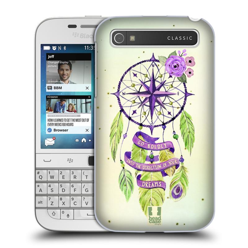 Plastové pouzdro na mobil Blackberry Classic HEAD CASE Lapač Assorted Compass (Kryt či obal na mobilní telefon Blackberry Classic)