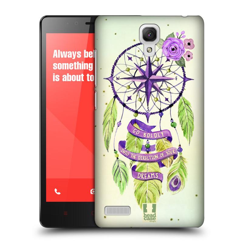 Plastové pouzdro na mobil Xiaomi Redmi Note LTE HEAD CASE Lapač Assorted Compass (Kryt či obal na mobilní telefon Xiaomi Redmi Note LTE (4G) s 5,5'' displejem)