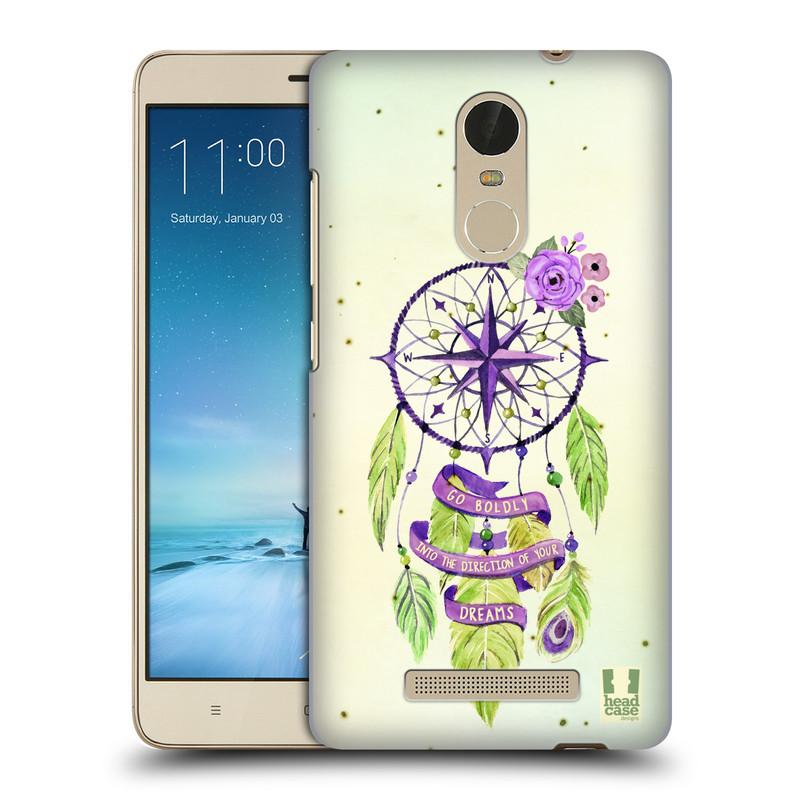 "Plastové pouzdro na mobil Xiaomi Redmi Note 3 HEAD CASE Lapač Assorted Compass (Kryt či obal na mobilní telefon Xiaomi Redmi Note 3 s 5,5"" displejem)"