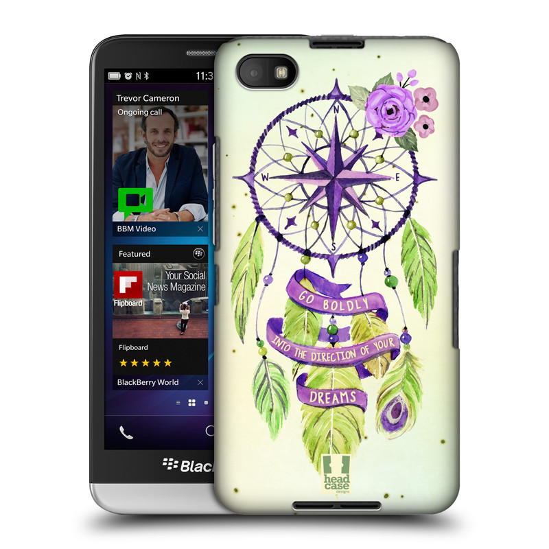 Plastové pouzdro na mobil Blackberry Z30 HEAD CASE Lapač Assorted Compass (Kryt či obal na mobilní telefon Blackberry Z30)