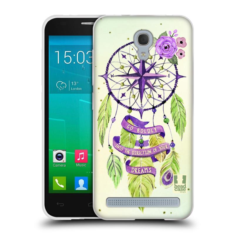 Silikonové pouzdro na mobil Alcatel One Touch Idol 2 Mini S 6036Y HEAD CASE Lapač Assorted Compass (Silikonový kryt či obal na mobilní telefon Alcatel Idol 2 Mini S OT-6036Y)