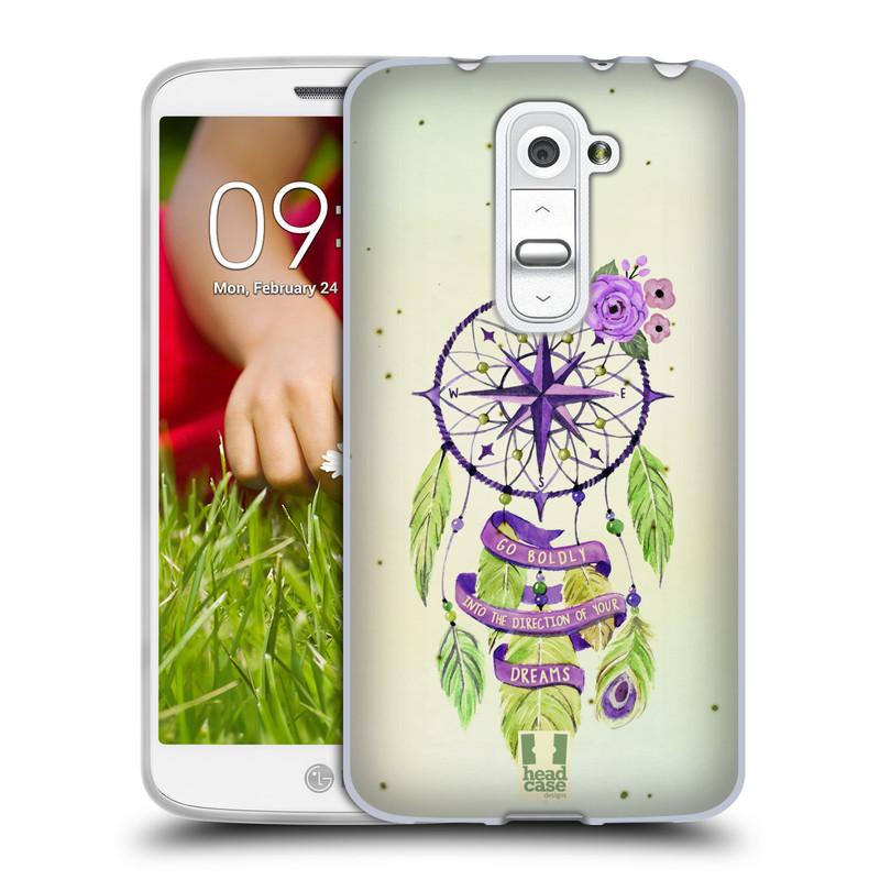 Silikonové pouzdro na mobil LG G2 Mini HEAD CASE Lapač Assorted Compass (Silikonový kryt či obal na mobilní telefon LG G2 Mini D620)