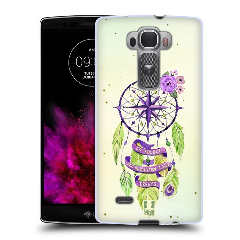 Silikonové pouzdro na mobil LG G Flex 2 HEAD CASE Lapač Assorted Compass (Silikonový kryt či obal na mobilní telefon LG G Flex 2 H955)