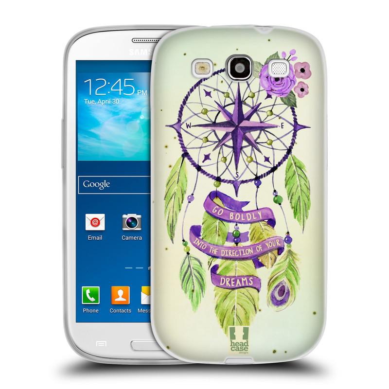 Silikonové pouzdro na mobil Samsung Galaxy S3 Neo HEAD CASE Lapač Assorted Compass (Silikonový kryt či obal na mobilní telefon Samsung Galaxy S3 Neo GT-i9301i)
