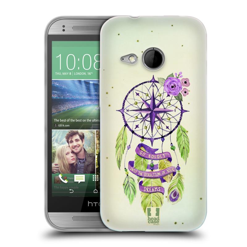 Silikonové pouzdro na mobil HTC ONE Mini 2 HEAD CASE Lapač Assorted Compass (Silikonový kryt či obal na mobilní telefon HTC ONE Mini 2)