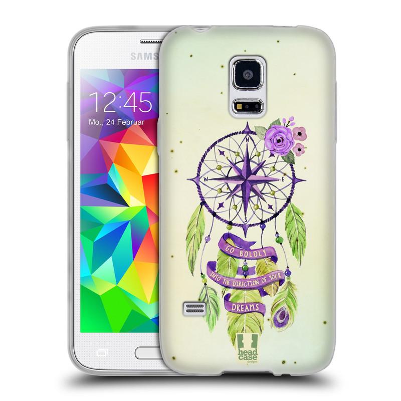 Silikonové pouzdro na mobil Samsung Galaxy S5 Mini HEAD CASE Lapač Assorted Compass (Silikonový kryt či obal na mobilní telefon Samsung Galaxy S5 Mini SM-G800F)