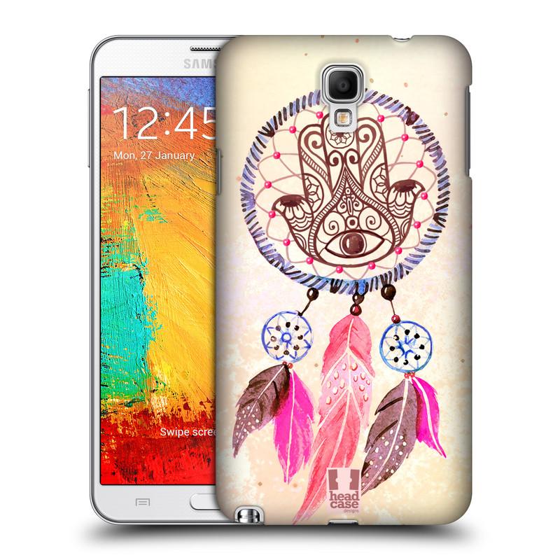 Plastové pouzdro na mobil Samsung Galaxy Note 3 Neo HEAD CASE Lapač Assorted Hamsa (Kryt či obal na mobilní telefon Samsung Galaxy Note 3 Neo SM-N7505)