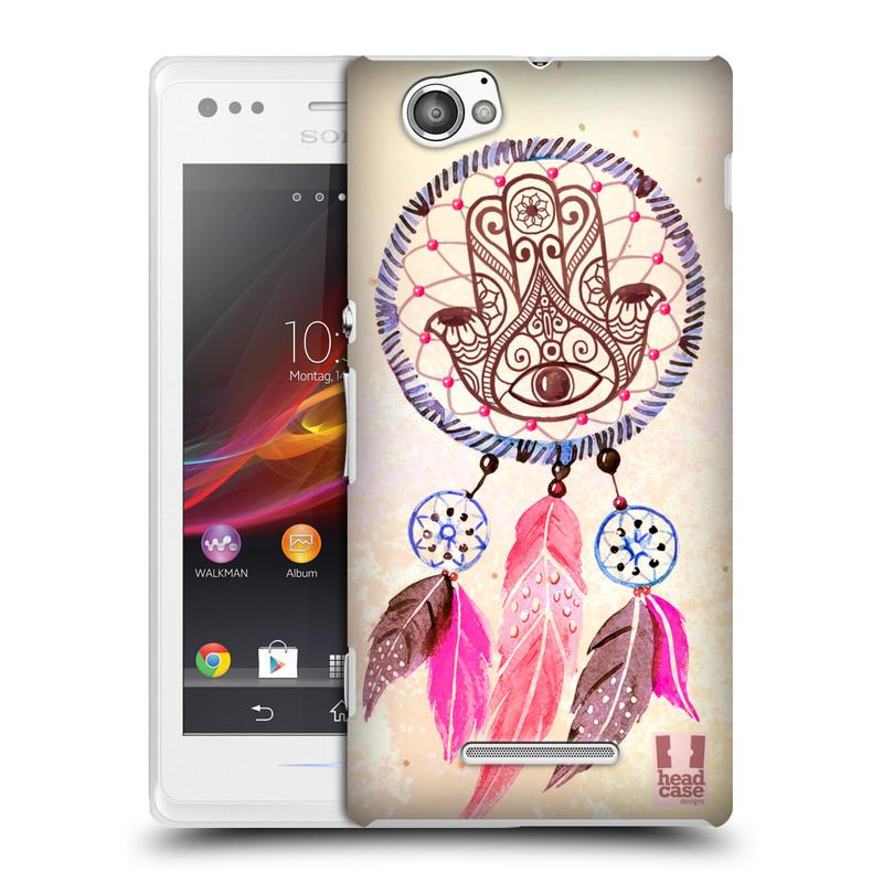 Plastové pouzdro na mobil Sony Xperia M C1905 HEAD CASE Lapač Assorted Hamsa (Kryt či obal na mobilní telefon Sony Xperia M )