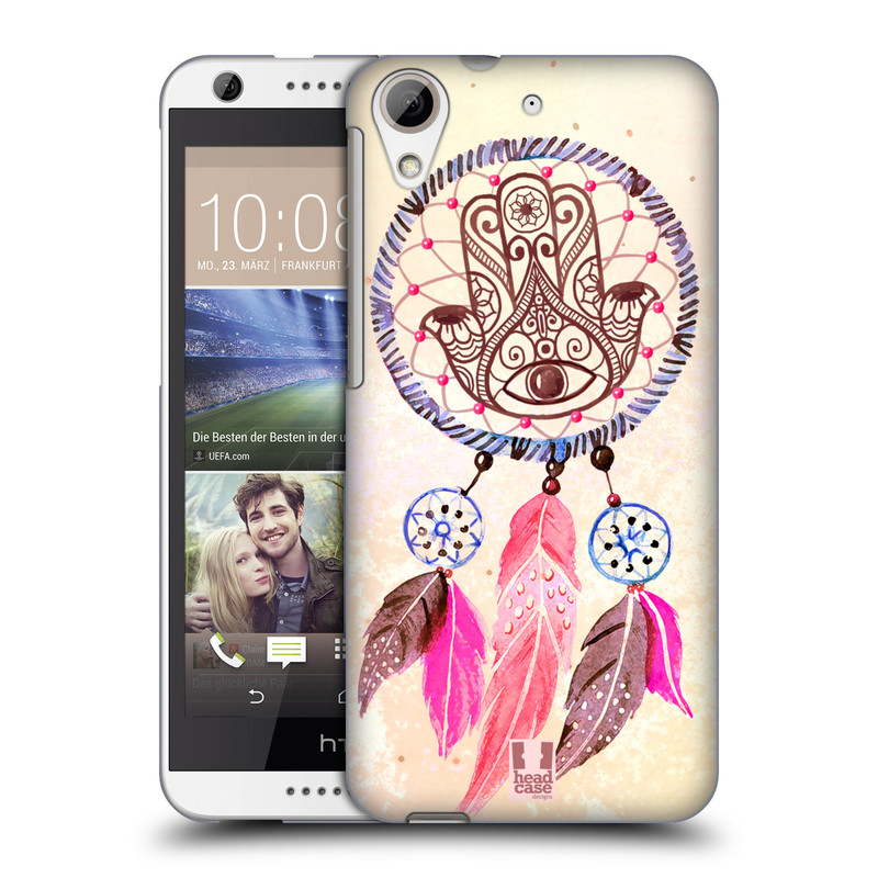 Plastové pouzdro na mobil HTC Desire 626 / 626G HEAD CASE Lapač Assorted Hamsa (Kryt či obal na mobilní telefon HTC Desire 626G Dual SIM a HTC Desire 626)