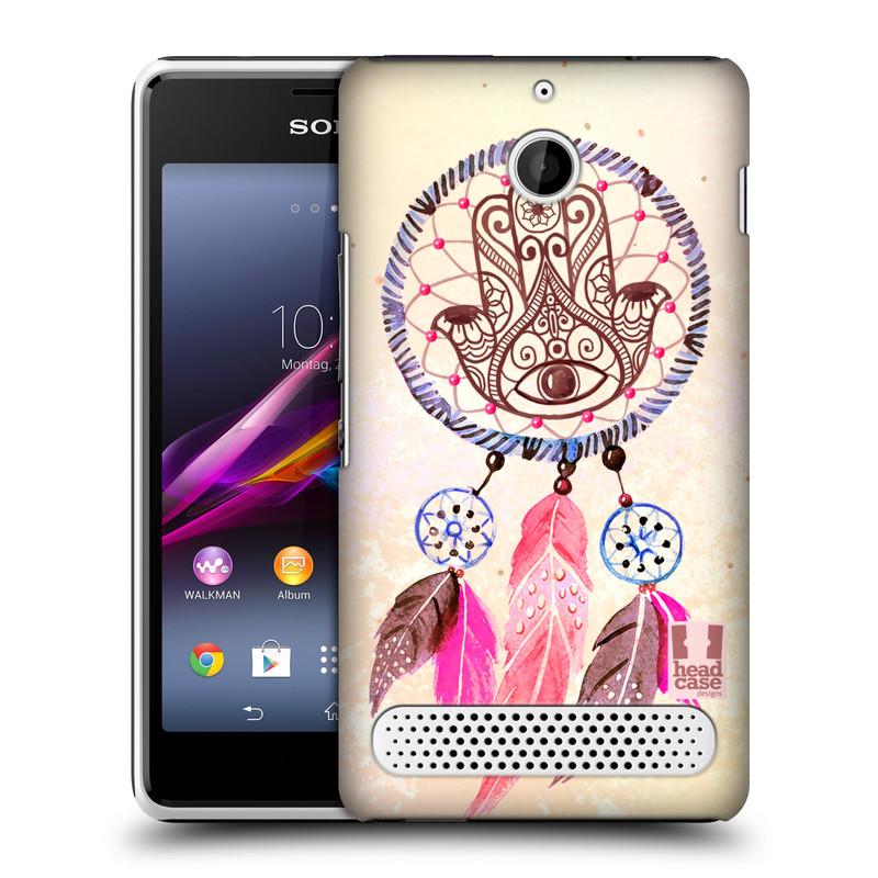 Plastové pouzdro na mobil Sony Xperia E1 D2005 HEAD CASE Lapač Assorted Hamsa (Kryt či obal na mobilní telefon Sony Xperia E1 a E1 Dual)