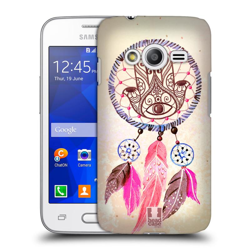 Plastové pouzdro na mobil Samsung Galaxy Trend 2 Lite HEAD CASE Lapač Assorted Hamsa (Kryt či obal na mobilní telefon Samsung Galaxy Trend 2 Lite SM-G318)