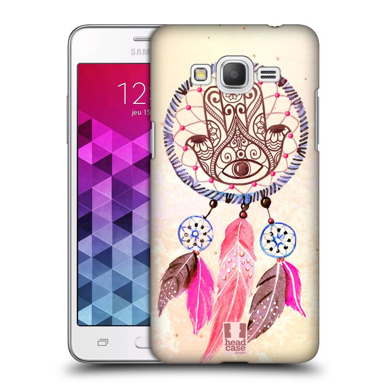 Plastové pouzdro na mobil Samsung Galaxy Grand Prime HEAD CASE Lapač Assorted Hamsa (Kryt či obal na mobilní telefon Samsung Galaxy Grand Prime SM-G530)