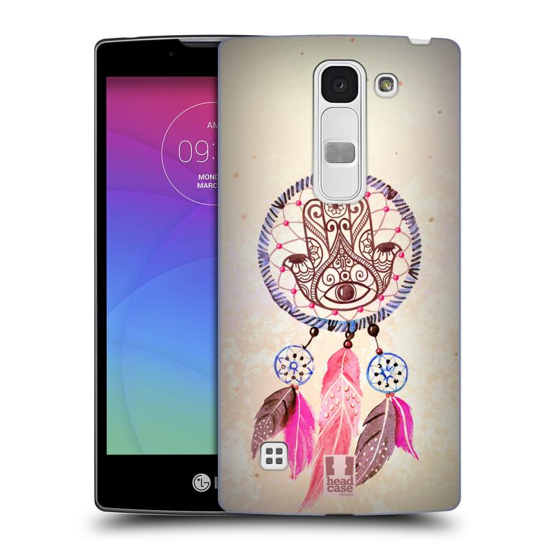 Plastové pouzdro na mobil LG Spirit LTE HEAD CASE Lapač Assorted Hamsa (Kryt či obal na mobilní telefon LG Spirit H420 a LG Spirit LTE H440N)