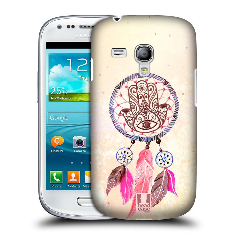 Plastové pouzdro na mobil Samsung Galaxy S III Mini HEAD CASE Lapač Assorted Hamsa (Kryt či obal na mobilní telefon Samsung Galaxy S III Mini GT-i8190)