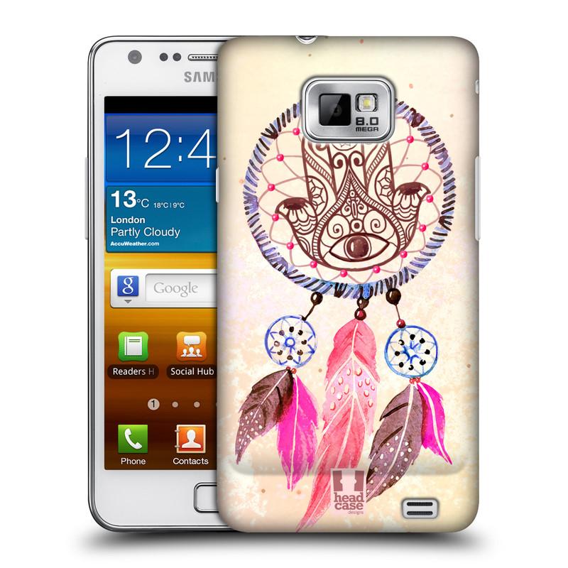 Plastové pouzdro na mobil Samsung Galaxy S II HEAD CASE Lapač Assorted Hamsa (Kryt či obal na mobilní telefon Samsung Galaxy S II GT-i9100)