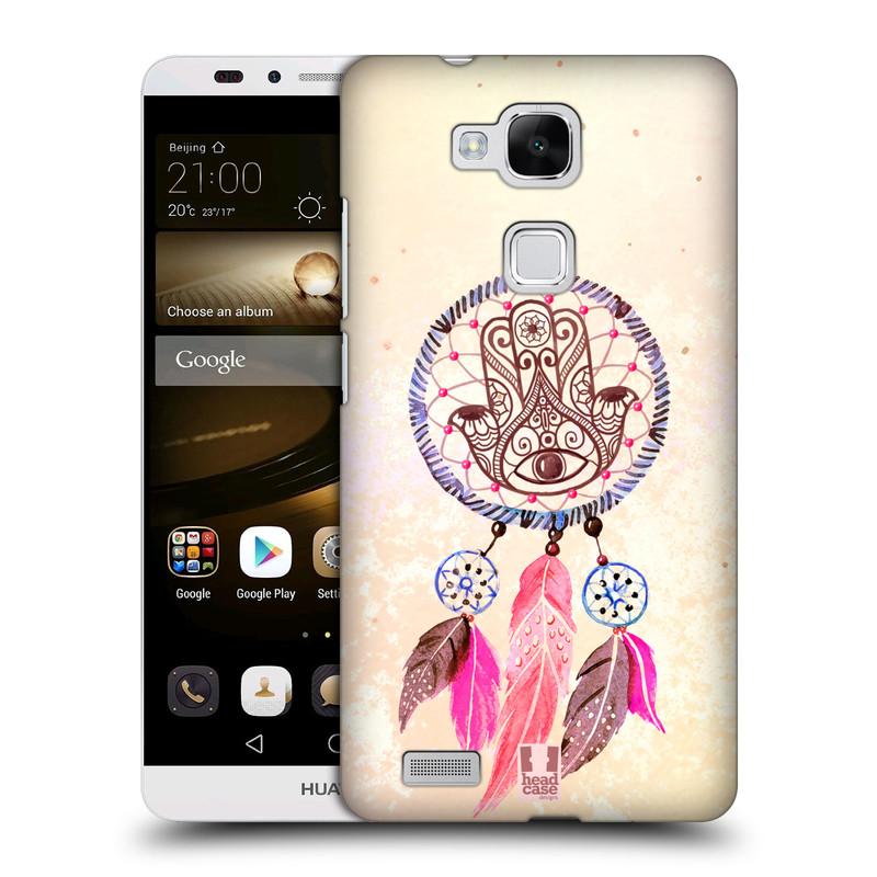 Plastové pouzdro na mobil Huawei Ascend Mate 7 HEAD CASE Lapač Assorted Hamsa (Kryt či obal na mobilní telefon Huawei Ascend Mate7)