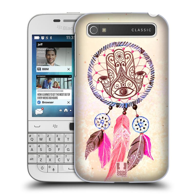 Plastové pouzdro na mobil Blackberry Classic HEAD CASE Lapač Assorted Hamsa (Kryt či obal na mobilní telefon Blackberry Classic)