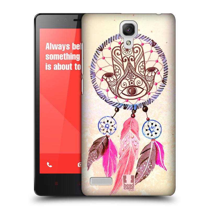 Plastové pouzdro na mobil Xiaomi Redmi Note LTE HEAD CASE Lapač Assorted Hamsa (Kryt či obal na mobilní telefon Xiaomi Redmi Note LTE (4G) s 5,5'' displejem)