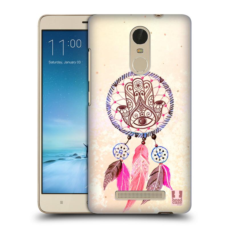 "Plastové pouzdro na mobil Xiaomi Redmi Note 3 HEAD CASE Lapač Assorted Hamsa (Kryt či obal na mobilní telefon Xiaomi Redmi Note 3 s 5,5"" displejem)"