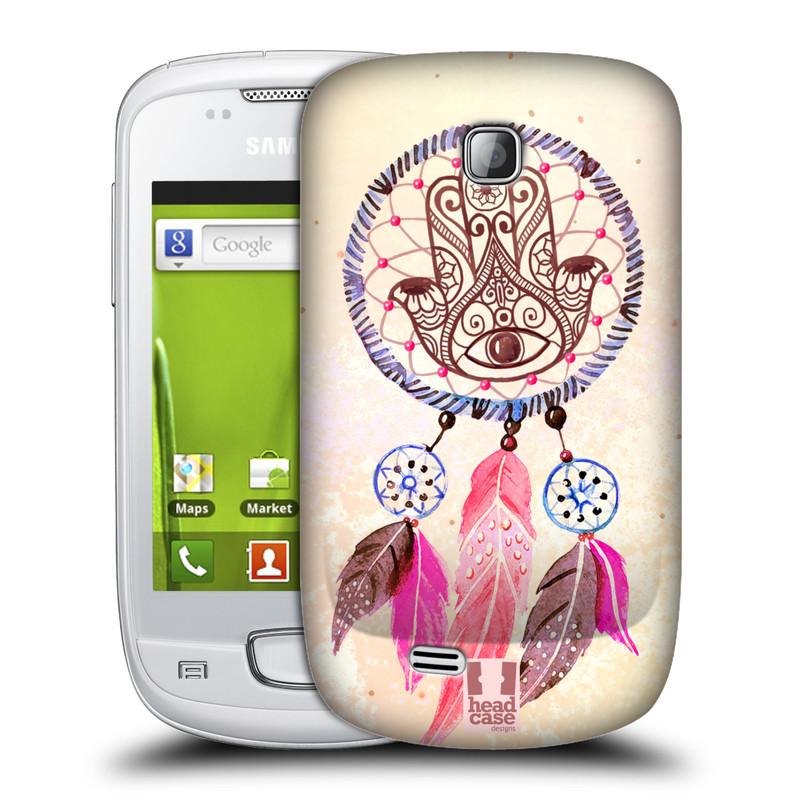 Plastové pouzdro na mobil Samsung Galaxy Mini HEAD CASE Lapač Assorted Hamsa (Kryt či obal na mobilní telefon Samsung Galaxy Mini GT-S5570 / GT-S5570i)