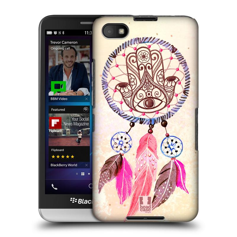 Plastové pouzdro na mobil Blackberry Z30 HEAD CASE Lapač Assorted Hamsa (Kryt či obal na mobilní telefon Blackberry Z30)