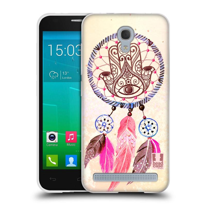 Silikonové pouzdro na mobil Alcatel One Touch Idol 2 Mini S 6036Y HEAD CASE Lapač Assorted Hamsa (Silikonový kryt či obal na mobilní telefon Alcatel Idol 2 Mini S OT-6036Y)