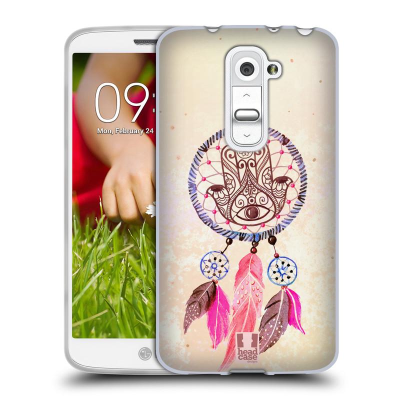 Silikonové pouzdro na mobil LG G2 Mini HEAD CASE Lapač Assorted Hamsa (Silikonový kryt či obal na mobilní telefon LG G2 Mini D620)