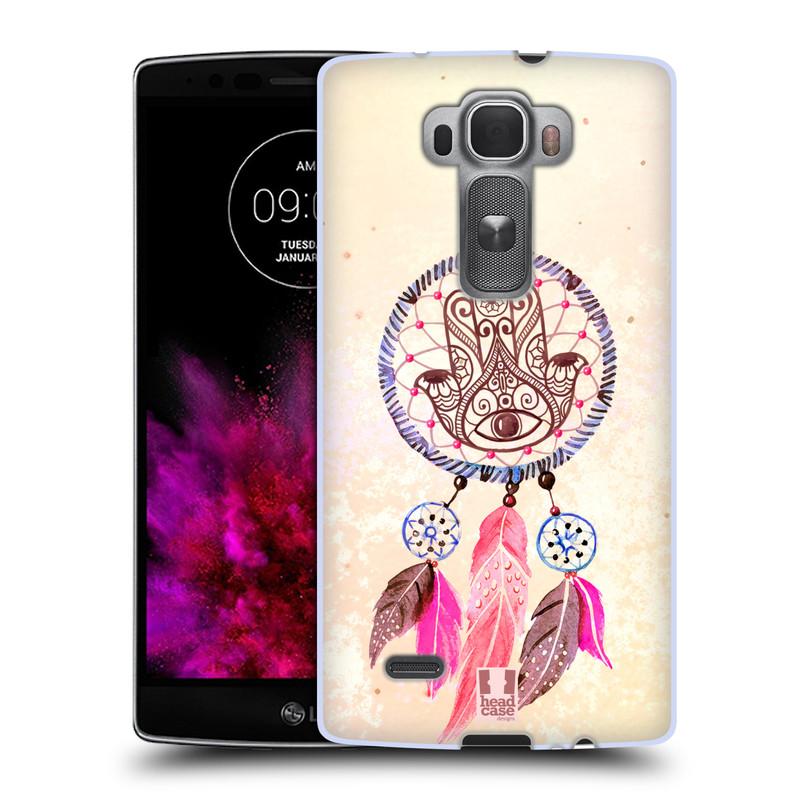 Silikonové pouzdro na mobil LG G Flex 2 HEAD CASE Lapač Assorted Hamsa (Silikonový kryt či obal na mobilní telefon LG G Flex 2 H955)