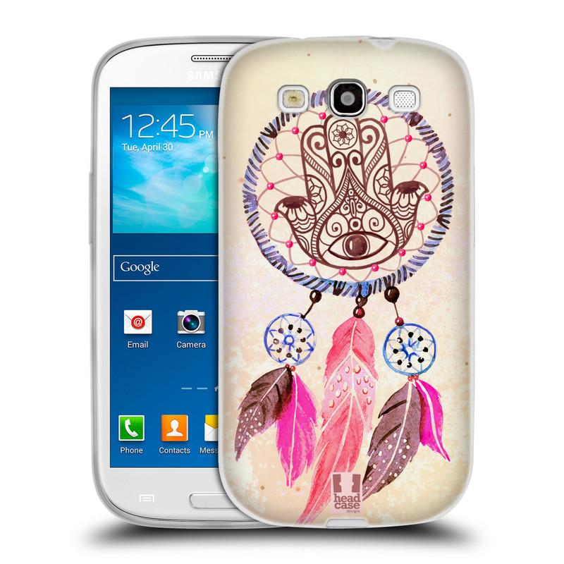 Silikonové pouzdro na mobil Samsung Galaxy S3 Neo HEAD CASE Lapač Assorted Hamsa (Silikonový kryt či obal na mobilní telefon Samsung Galaxy S3 Neo GT-i9301i)