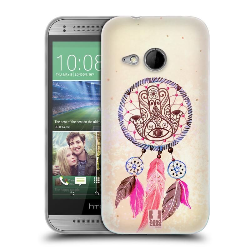 Silikonové pouzdro na mobil HTC ONE Mini 2 HEAD CASE Lapač Assorted Hamsa (Silikonový kryt či obal na mobilní telefon HTC ONE Mini 2)