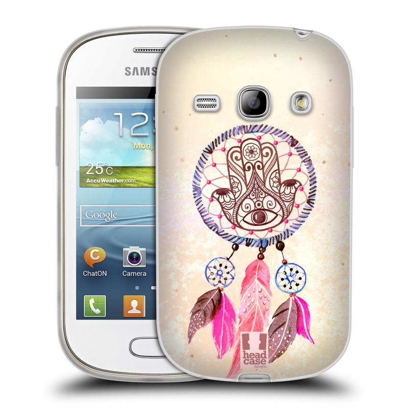 Silikonové pouzdro na mobil Samsung Galaxy Fame HEAD CASE Lapač Assorted Hamsa (Silikonový kryt či obal na mobilní telefon Samsung Galaxy Fame GT-S6810)