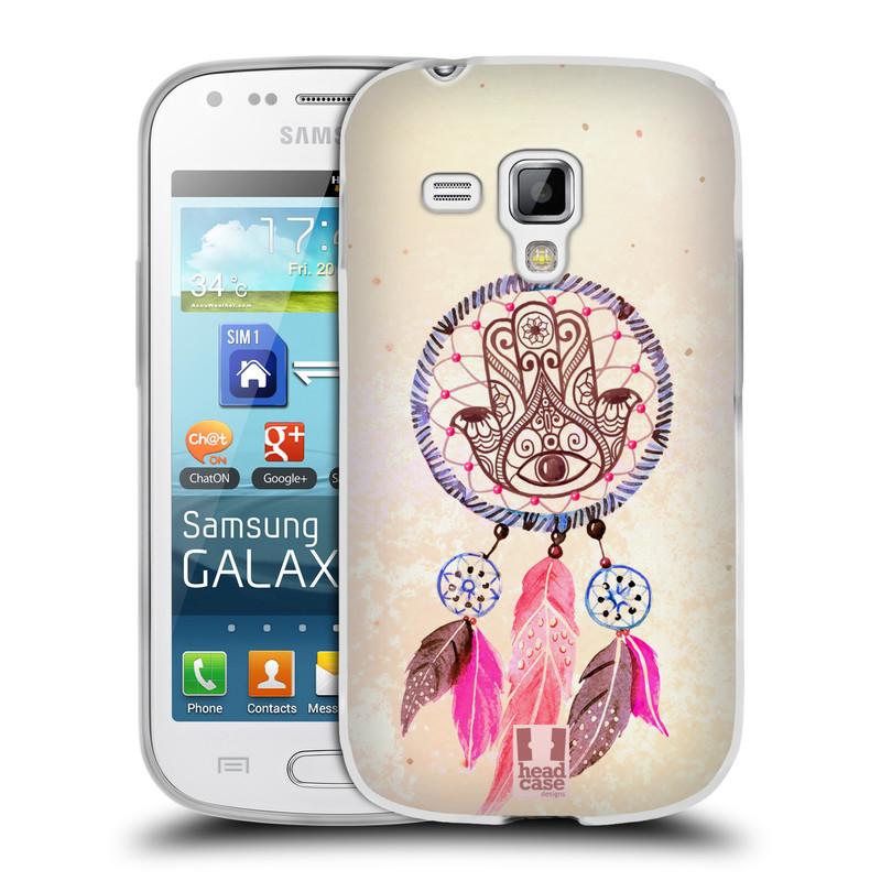Silikonové pouzdro na mobil Samsung Galaxy Trend Plus HEAD CASE Lapač Assorted Hamsa (Silikonový kryt či obal na mobilní telefon Samsung Galaxy Trend Plus GT-S7580)