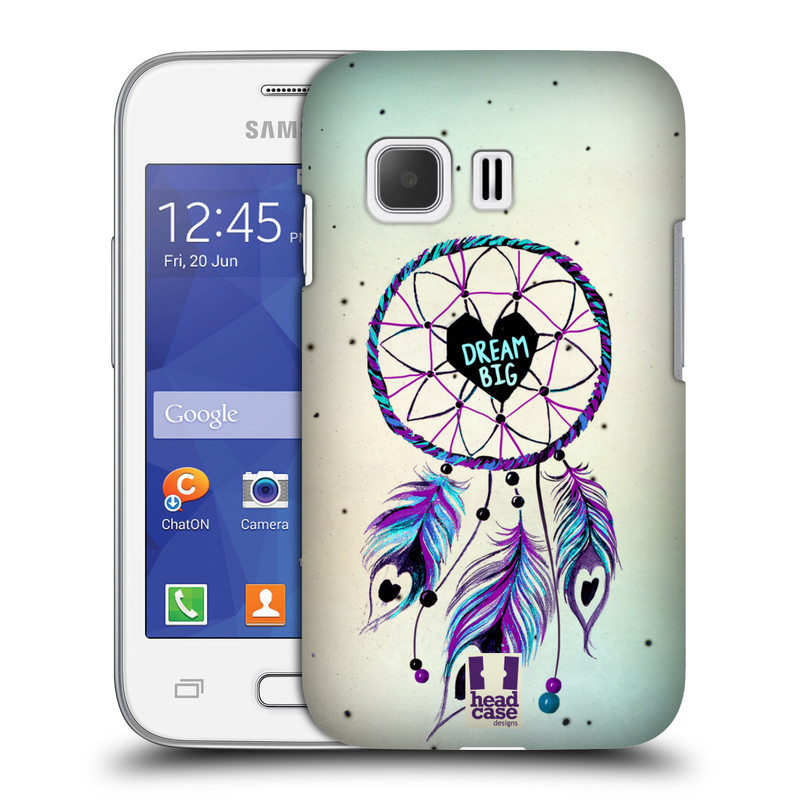 Plastové pouzdro na mobil Samsung Galaxy Young 2 HEAD CASE Lapač Assorted Dream Big Srdce (Kryt či obal na mobilní telefon Samsung Galaxy Young 2 SM-G130)