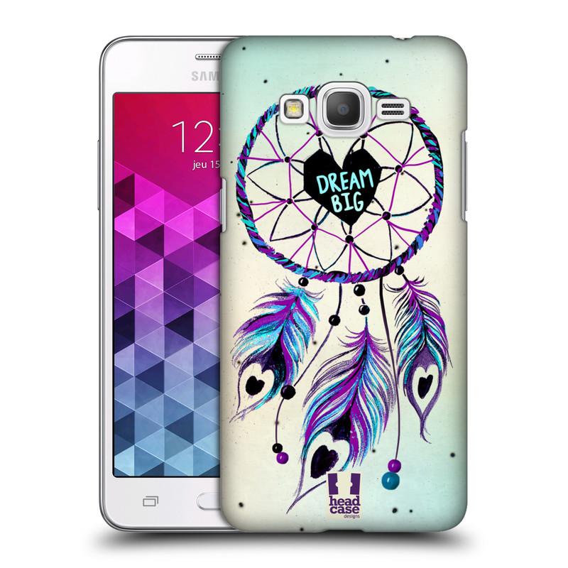 Plastové pouzdro na mobil Samsung Galaxy Grand Prime HEAD CASE Lapač Assorted Dream Big Srdce (Kryt či obal na mobilní telefon Samsung Galaxy Grand Prime SM-G530)