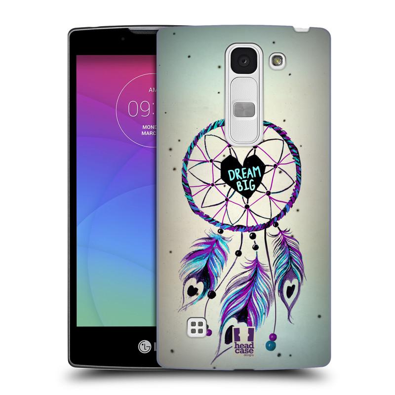 Plastové pouzdro na mobil LG Spirit LTE HEAD CASE Lapač Assorted Dream Big Srdce (Kryt či obal na mobilní telefon LG Spirit H420 a LG Spirit LTE H440N)