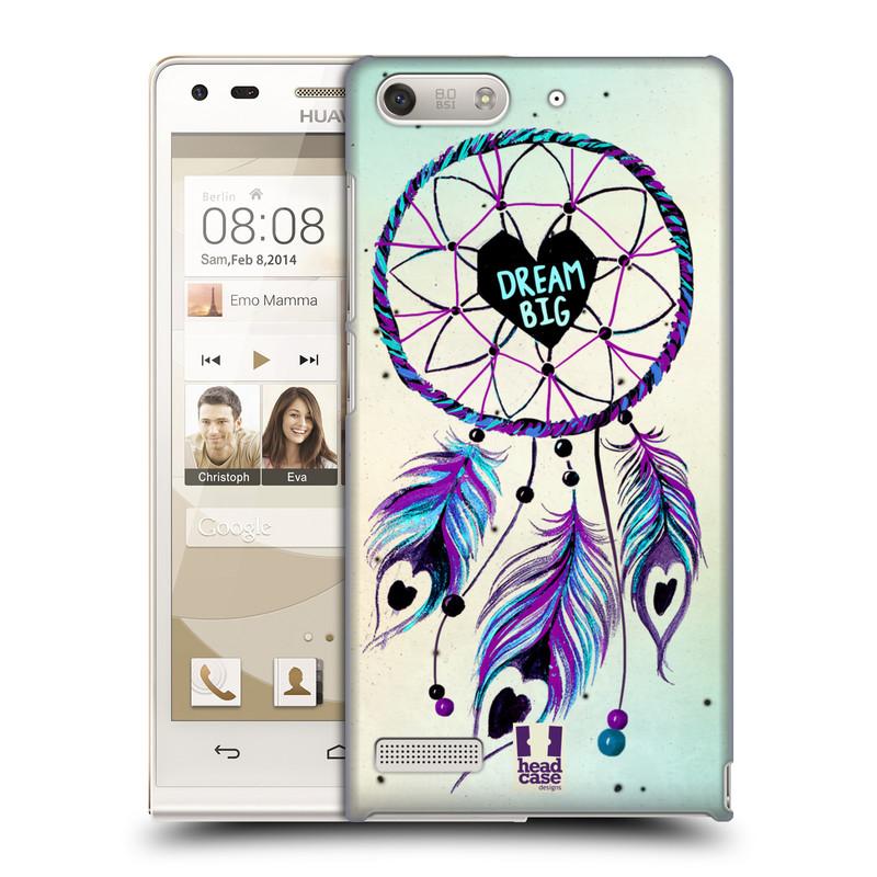 Plastové pouzdro na mobil Huawei Ascend G6 HEAD CASE Lapač Assorted Dream Big Srdce (Kryt či obal na mobilní telefon Huawei Ascend G6 bez LTE)
