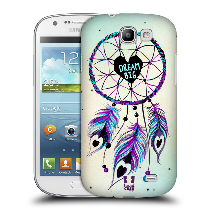 Plastové pouzdro na mobil Samsung Galaxy Express HEAD CASE Lapač Assorted Dream Big Srdce (Kryt či obal na mobilní telefon Samsung Galaxy Express GT-i8730)