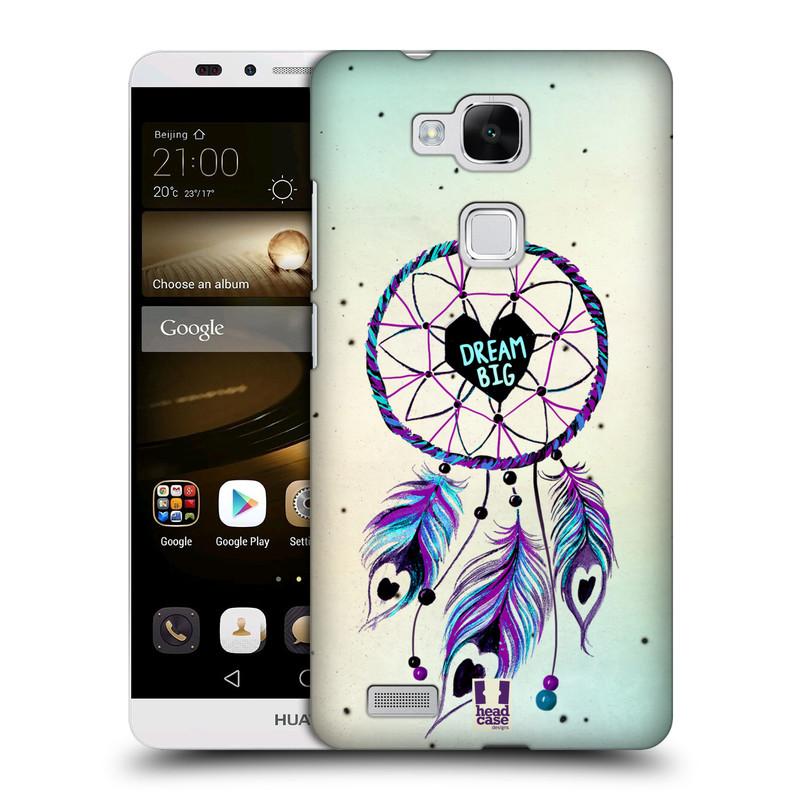 Plastové pouzdro na mobil Huawei Ascend Mate 7 HEAD CASE Lapač Assorted Dream Big Srdce (Kryt či obal na mobilní telefon Huawei Ascend Mate7)